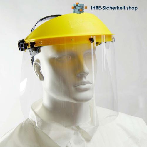 Porstwest PW91CLT Gesichtsschutz mit durchsichtigem Visier