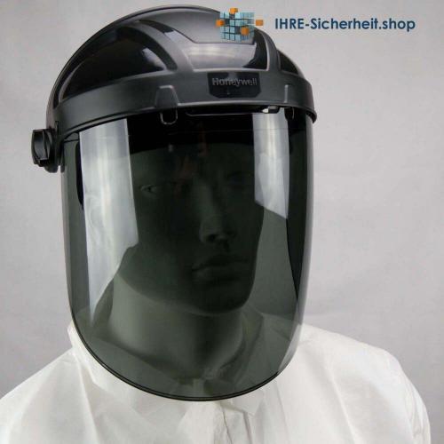 Honeywell Turboshield Kopfhalterung und Visier