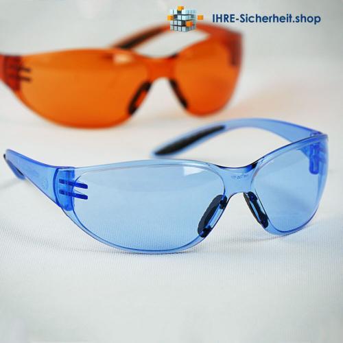 Pro-Fit Racer Schutzbrille blau/orange